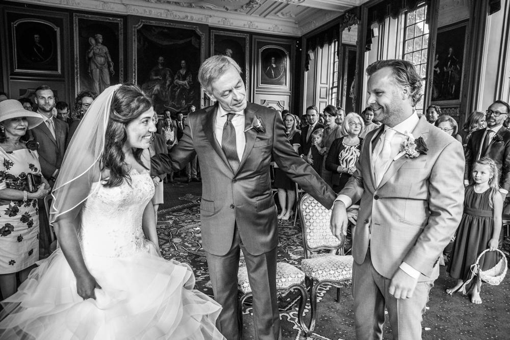 bruidsreportage Voorschoten kasteel Duivenvoorde en Allemansgeest-12
