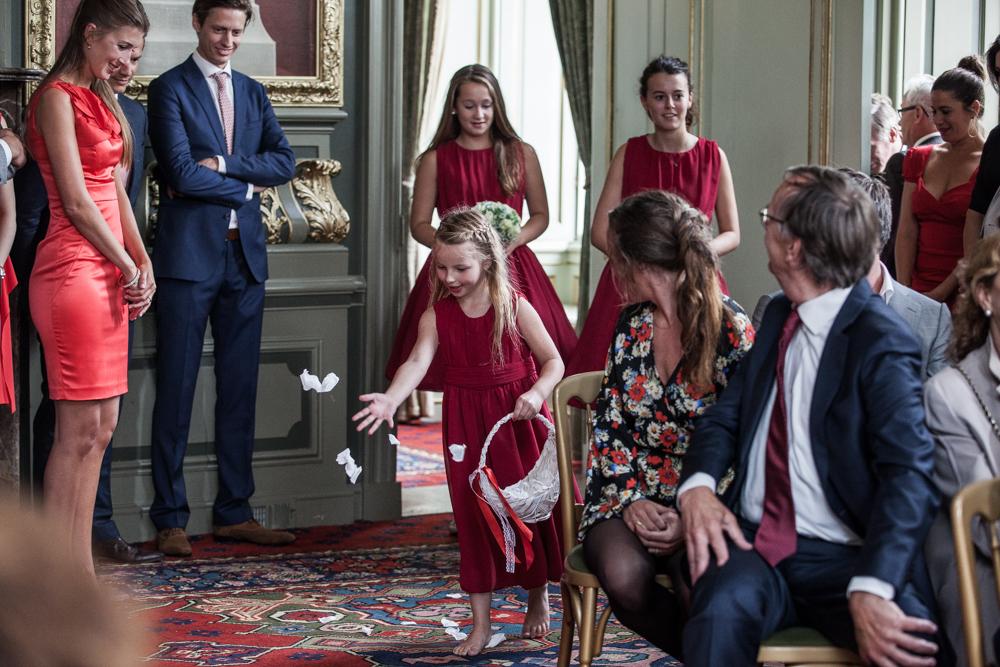 bruidsreportage Voorschoten kasteel Duivenvoorde en Allemansgeest-14