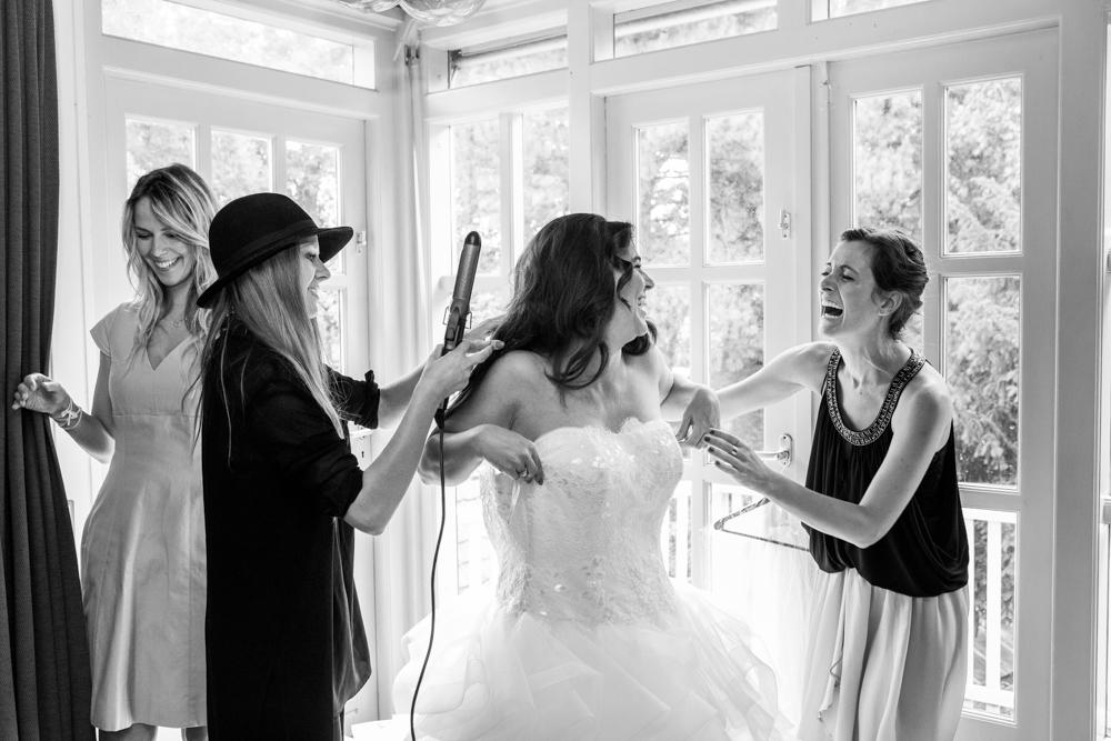 bruidsreportage Voorschoten kasteel Duivenvoorde en Allemansgeest-5