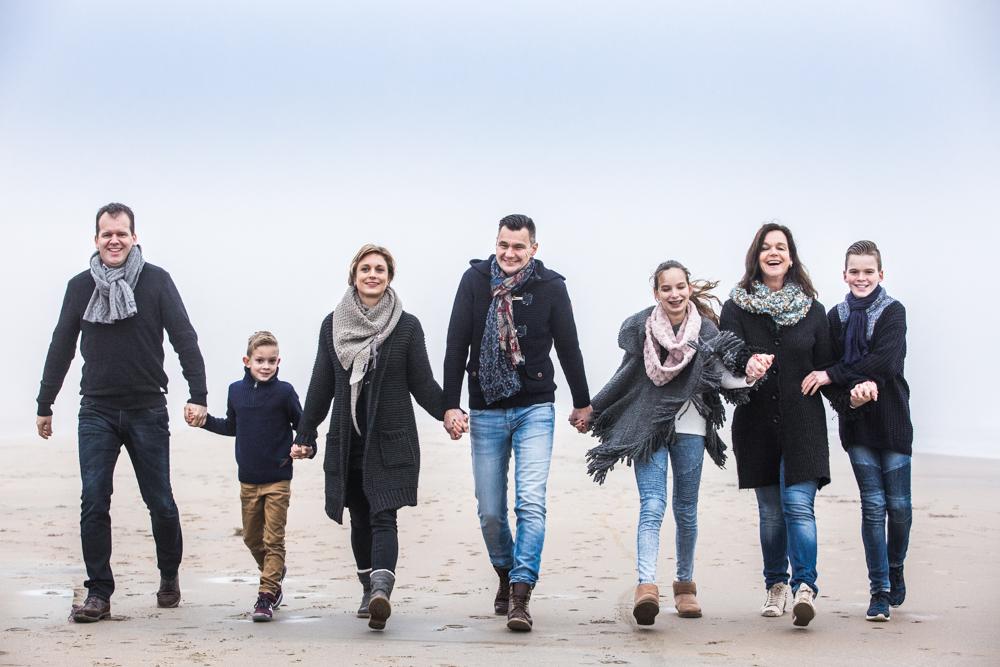 fotoshoot strand Katwijk met mist-3