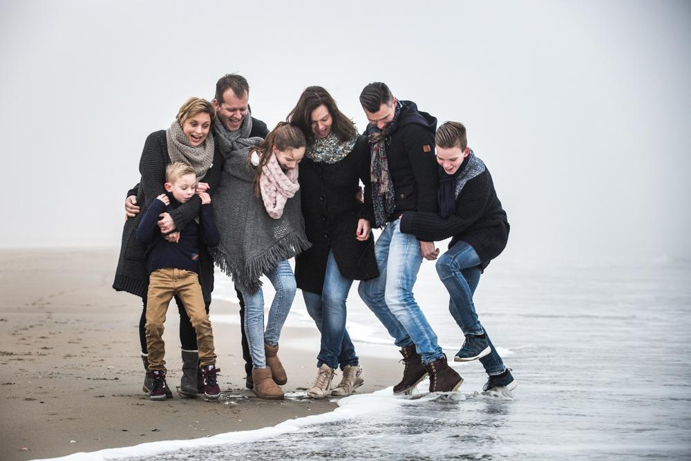 fotoshoot strand Katwijk met mist-4