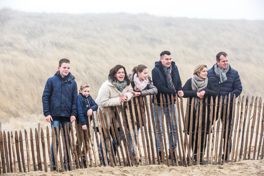 fotoshoot strand Katwijk met mist-9